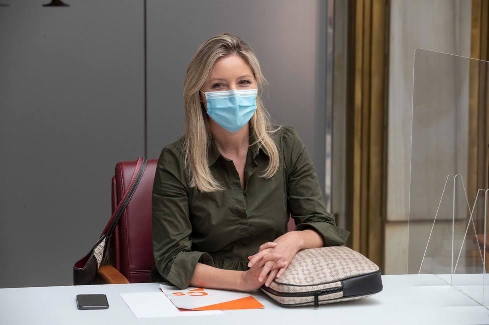 La coordinadora de Ciudadanos Murcia que impulsó la moción de censura deja su cargo pero mantiene su escaño