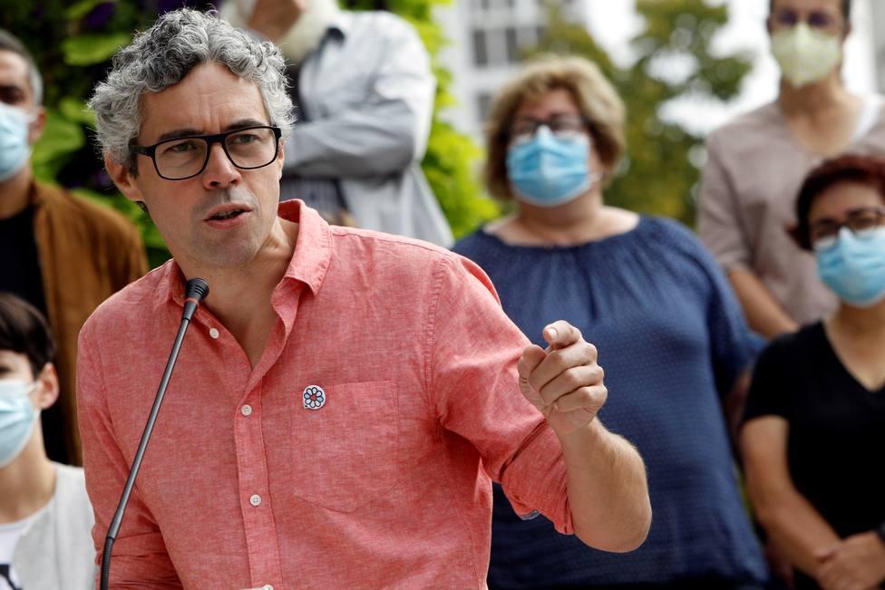 iván Rivas es portavoz del grupo municipal del BNG en el Ayuntamiento de Ferrol - FOTO: EFE / Kiko Delgado
