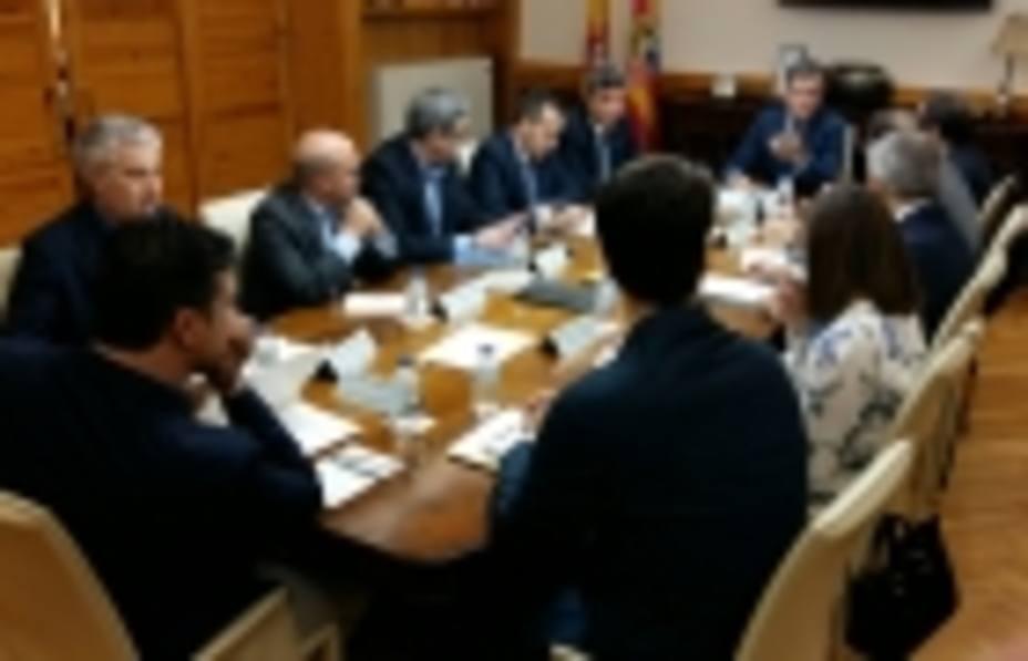Reunión del grupo de trabajo interdepartamental