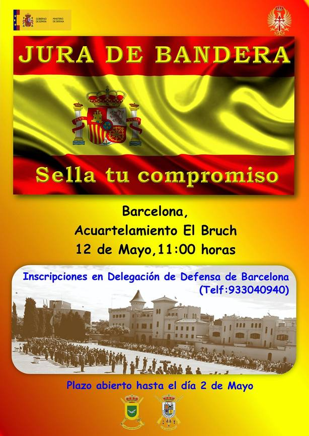 Jura de bandera en Barcelona este fin de semana