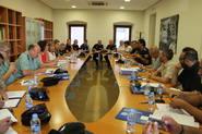 Reunión en el ayuntamiento de Benicàssim con miembros de la...