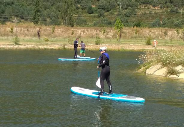 Actividad en el lago El Juncaral