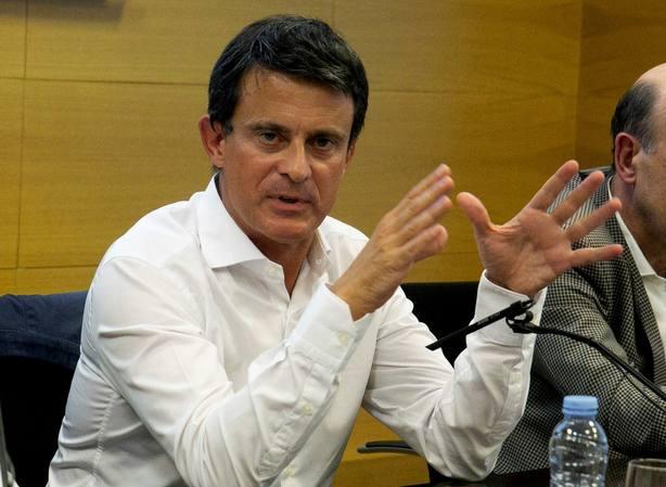 Manuel Valls en Zaragoza