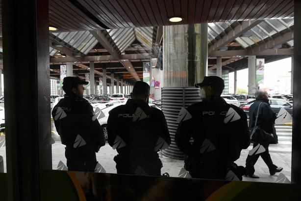 La Policía vigila la estación de Atocha