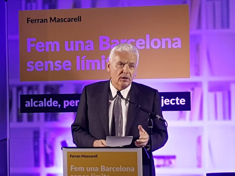 Mascarell optará a la Alcaldía de Barcelona como candidato independiente