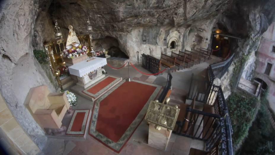 Covadonga emitirá en internet la imagen de la Santina 24 horas al día