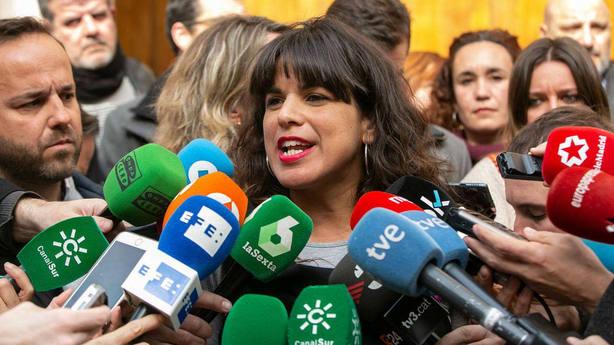 Teresa Rodríguez espera que la sociedad civil sirva de contrapeso para evitar planes malévolos de Vox