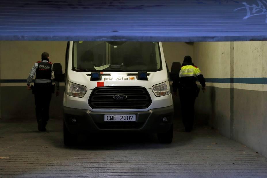 Los detenidos por la violación de Sabadell llegan a los juzgados