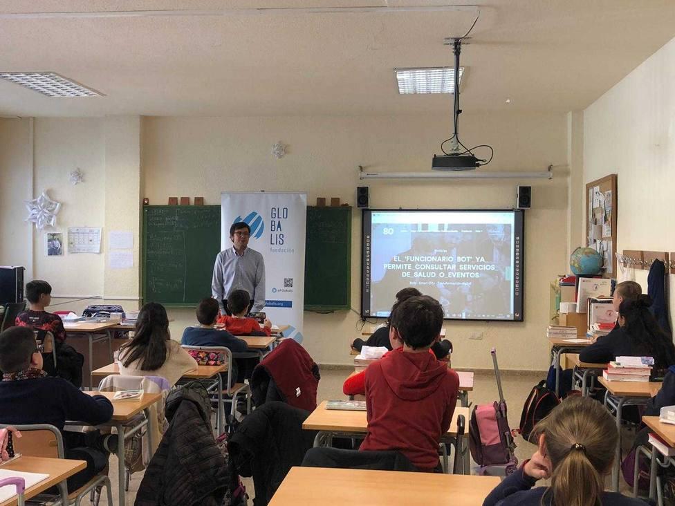 Jornada emprendedora para estudiantes organizada por Globalis