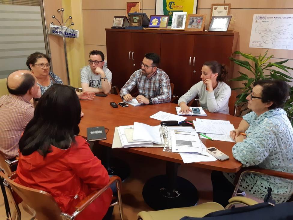Momento de la reunión de las Mesas de Calidad Turística de la Subbética