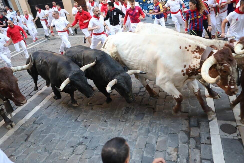 El sexto encierro, con más de 1,6 millones de espectadores (70,9%), el más visto de los Sanfermines