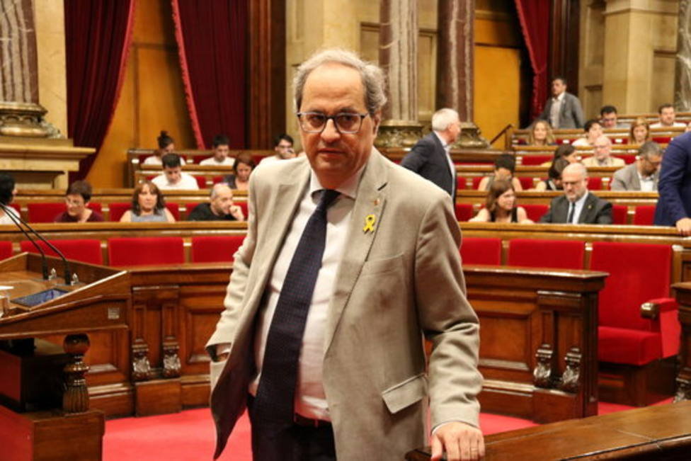 Quim Torra, multado con 2.500 euros