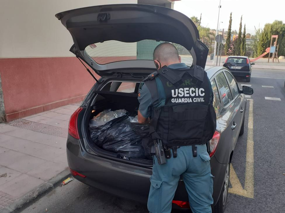 Detención Guardia Civil en Motril