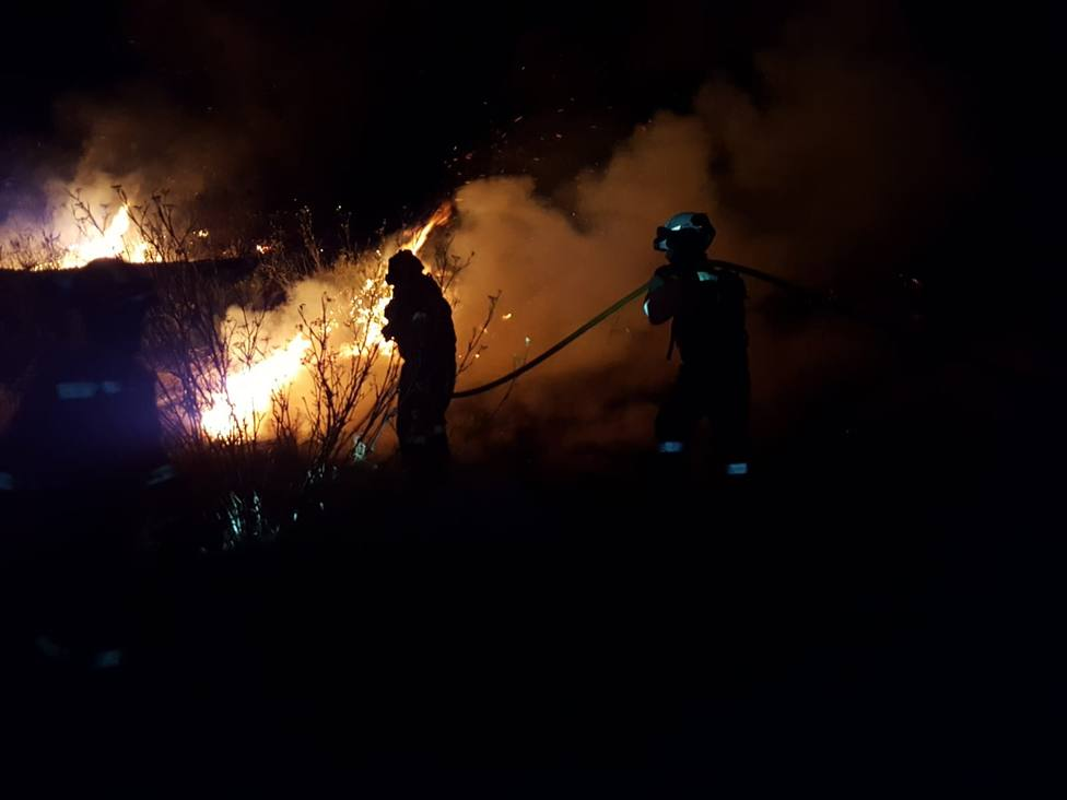 Los efectivos de la UME de Morón desplegados en Gran Canaria se repliegan tras el control del fuego