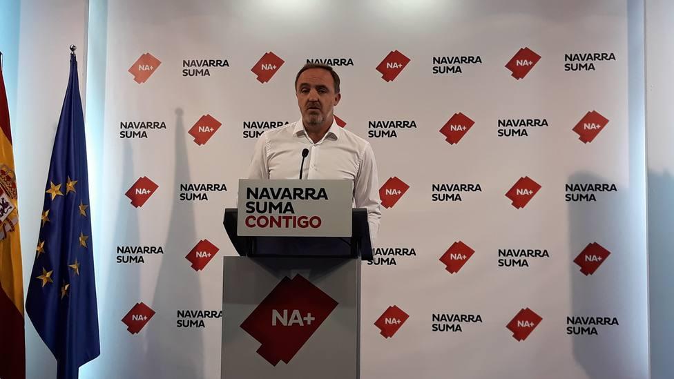 Navarra Suma propone una nueva ley foral de Símbolos de Navarra y espera contar con el apoyo del PSN