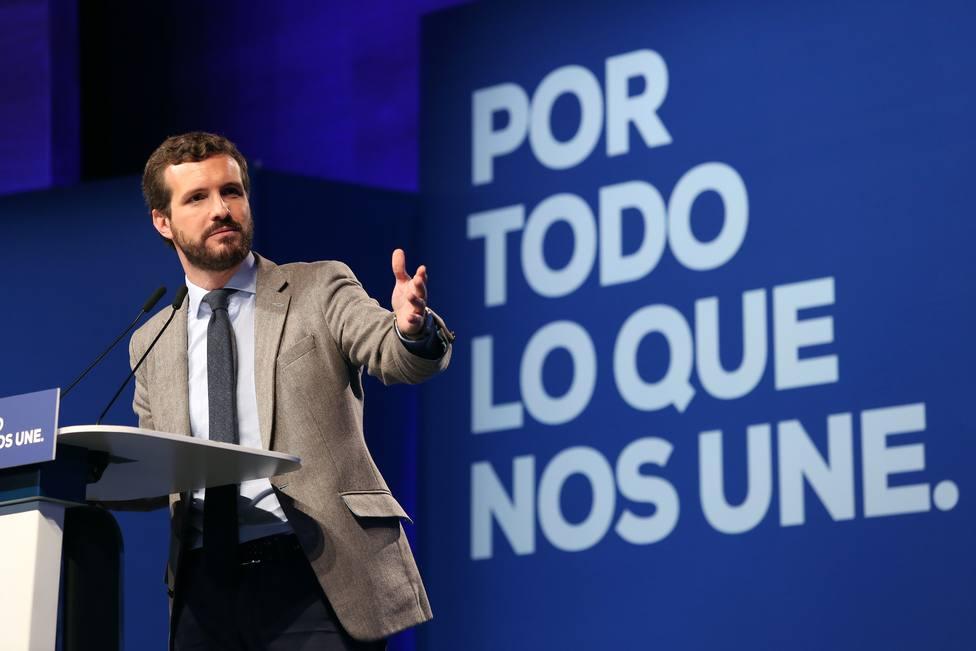 Casado apela al pacto por el agua del PP y aboga por respetar las demandas que tiene Castilla-La Mancha