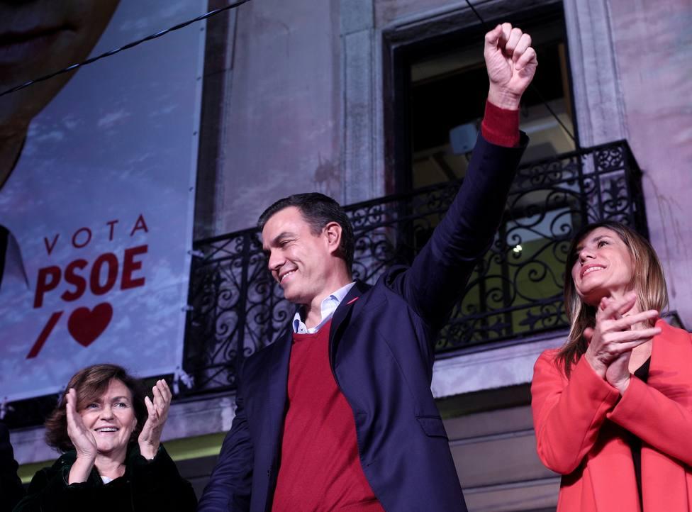 10N.- Victoria decepcionante para el PSOE al empeorar resultados y no mejorar la gobernabilidad