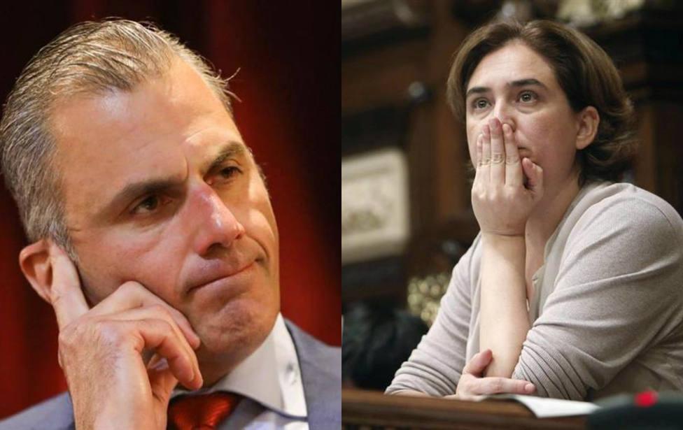 Ada Colau insulta gravemente a Ortega Smith para defender su polémico belén en Barcelona
