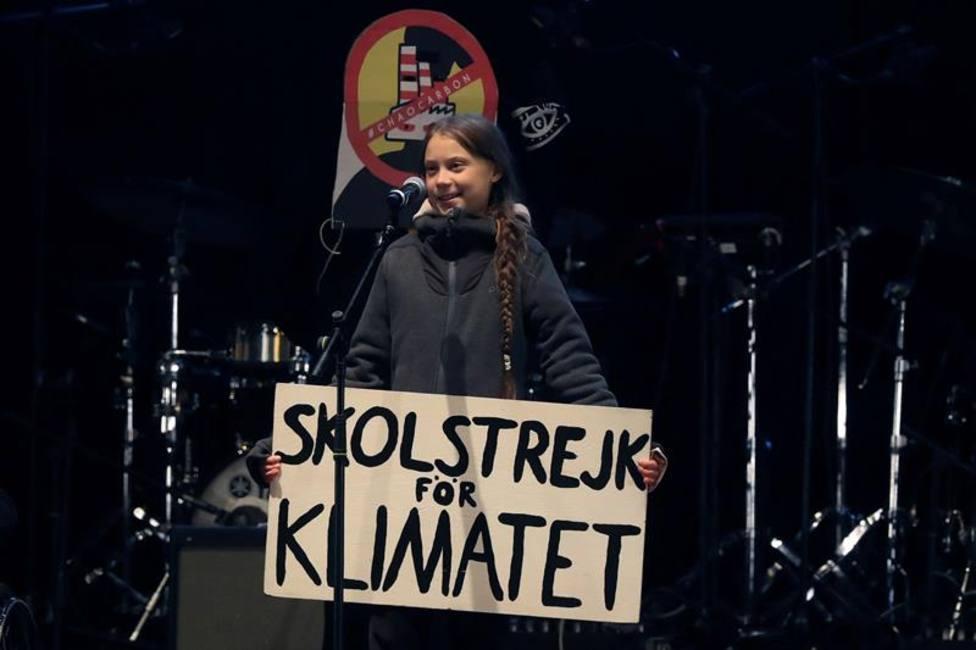 Miles de personas participan en la Marcha por el Clima donde Bardem y Greta Thunberg acaparan el protagonismo