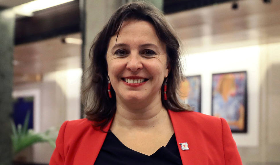 Ana Miranda, eurodiputada del BNG - FOTO: Efe / Mariscal
