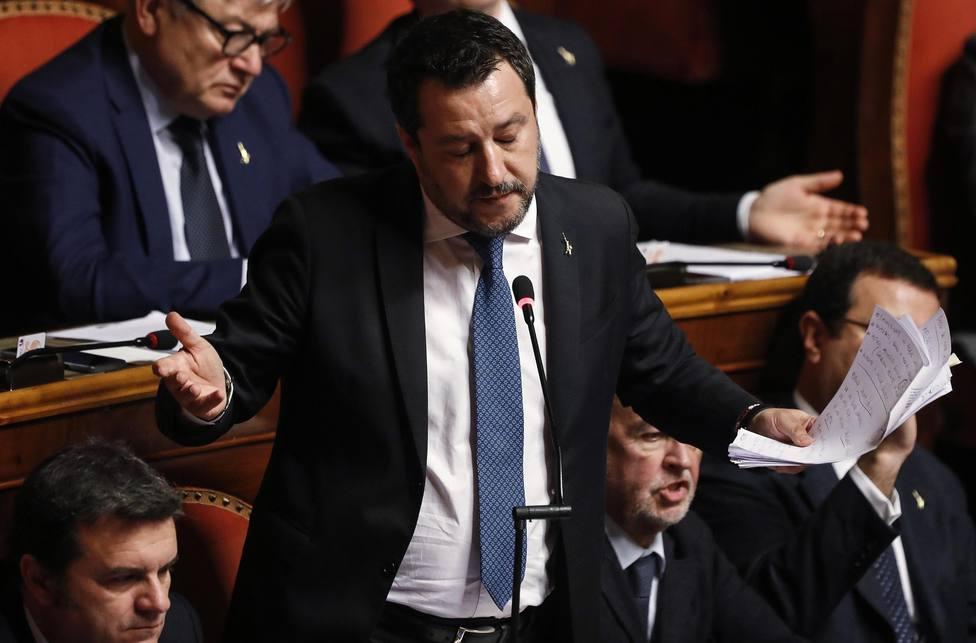 Salvini será procesado por impedir que 131 migrantes salvados en el Mediterráneo llegasen a Italia