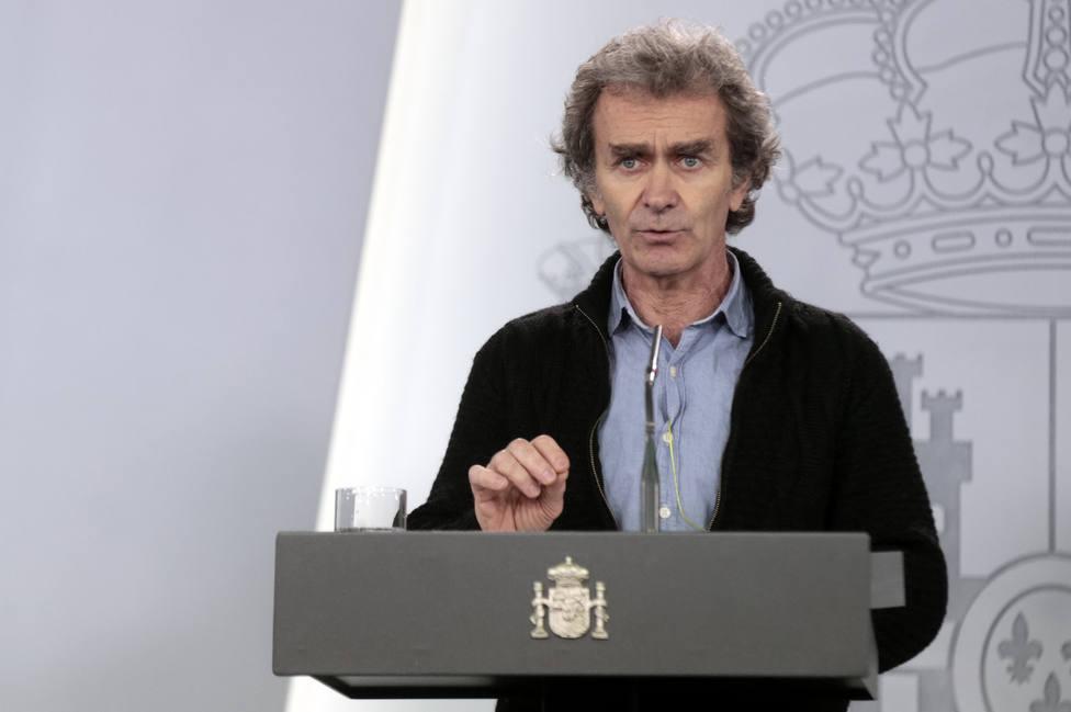 Rueda de prensa de Fernando Simón y el Comité de Gestión del coronavirus