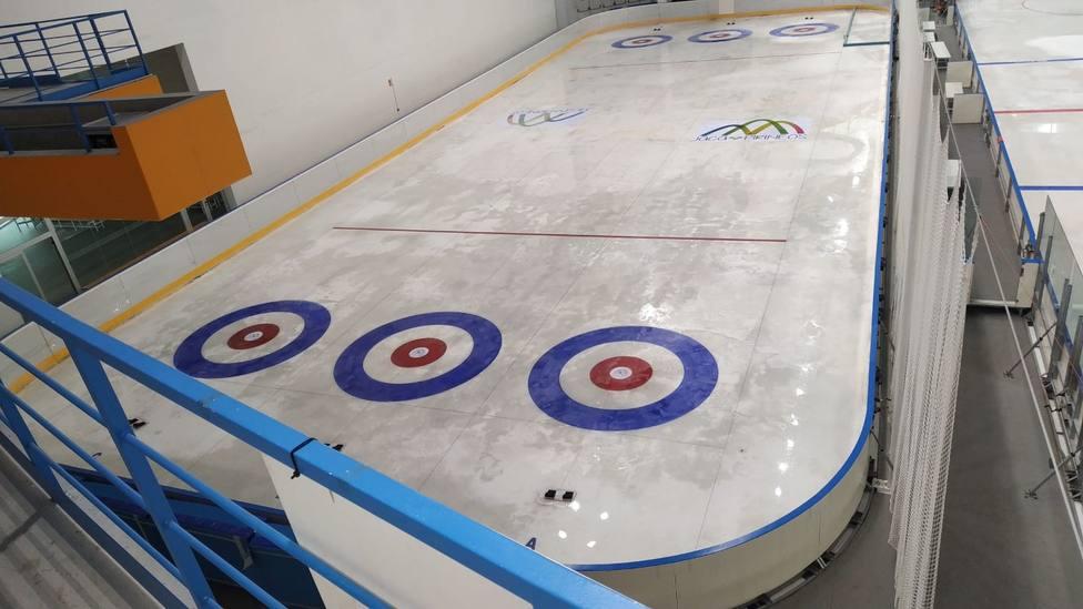 Pista de hielo curling