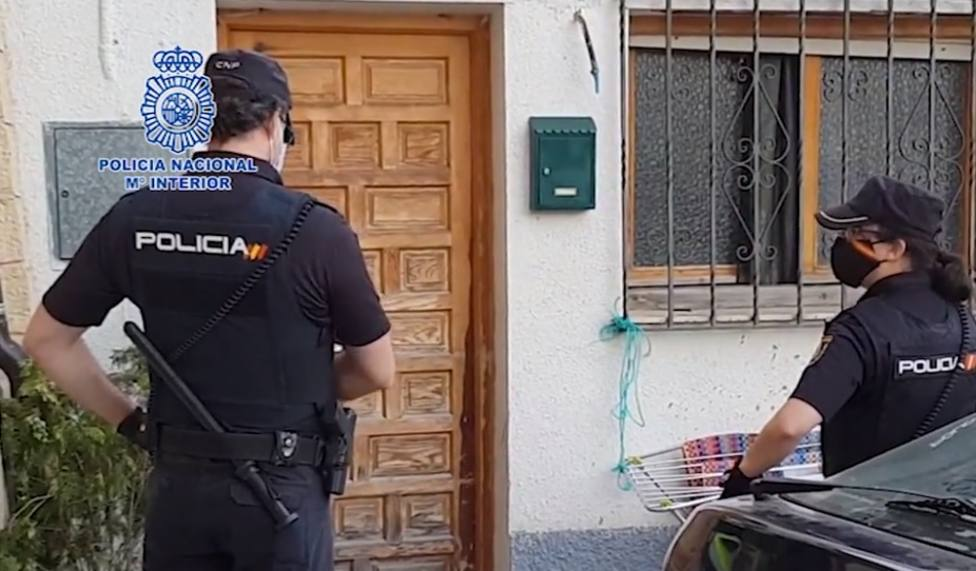 Sucesos. Policía Nacional. Liberada una mujer obligada a prostituirse