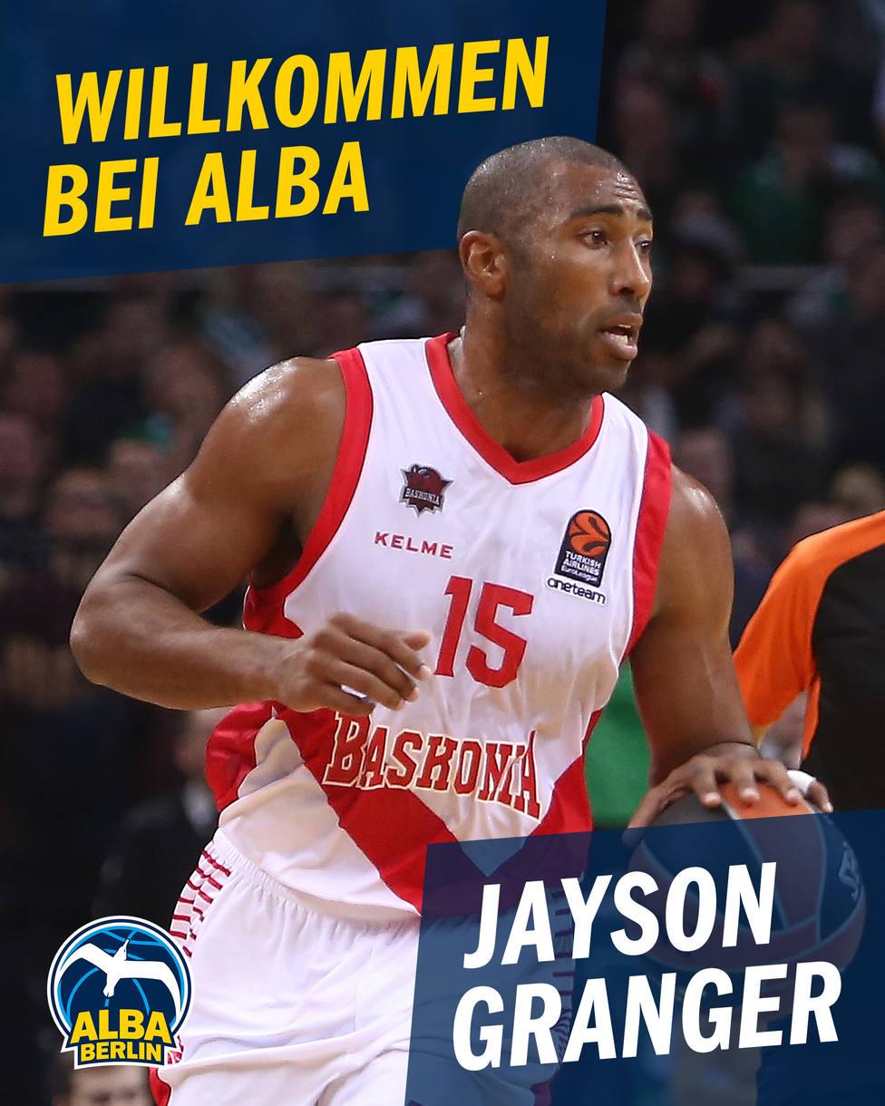 El ALBA Berlín ficha a Jayson Granger por una temporada