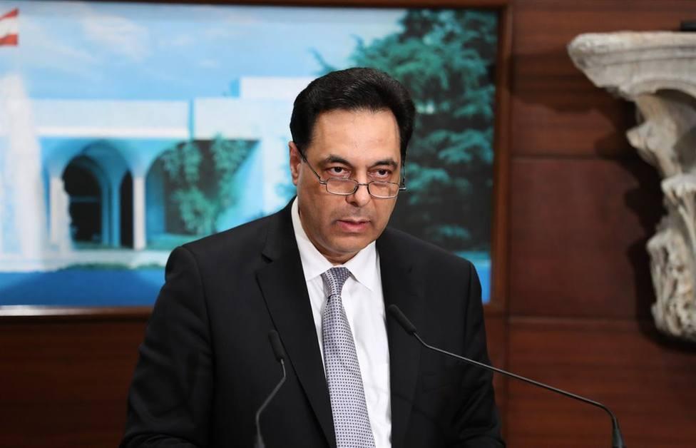 El primer ministro libanés propone comicios anticipados para salir de crisis