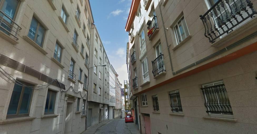 La calle Espartero está en el barrio de Ferrol Vello