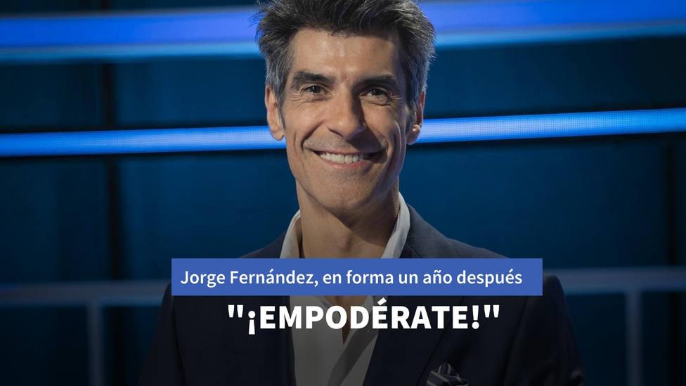 Jorge Fernández, en plena forma un año después de superar su enfermedad: ¡Empodérate!