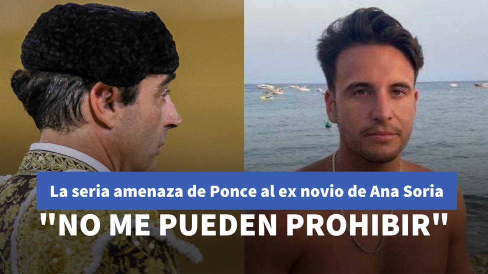 La seria amenaza de Enrique Ponce al ex novio de Ana Soria: No me pueden prohibir que vaya a algún sitio