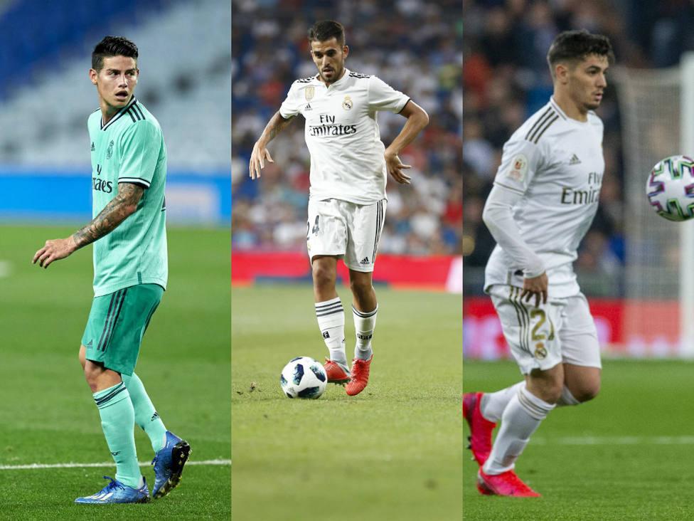 El Real Madrid regresa con la idea de cerrar las salidas de Ceballos, James y Brahim