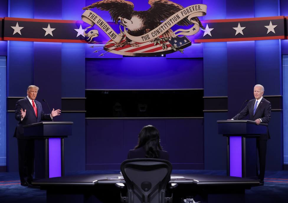 Trump eleva el tono contra Biden en el último asalto de campaña con el objetivo de mejorar en las encuestas