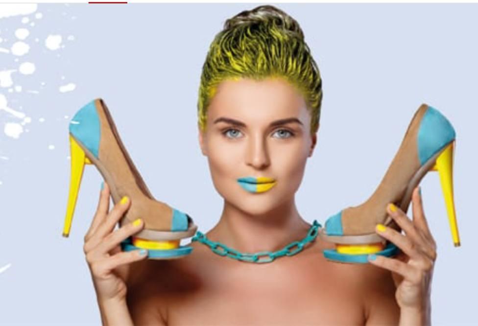 Adornos extravagantes, colores vivos y tiras anchas, estas son las tendencias de calzado para la primavera