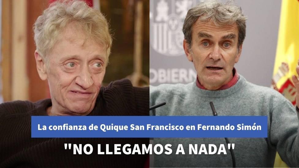 El comentario de Quique San Francisco en Liarla Pardo sobre la confianza que le transmite Fernando Simón