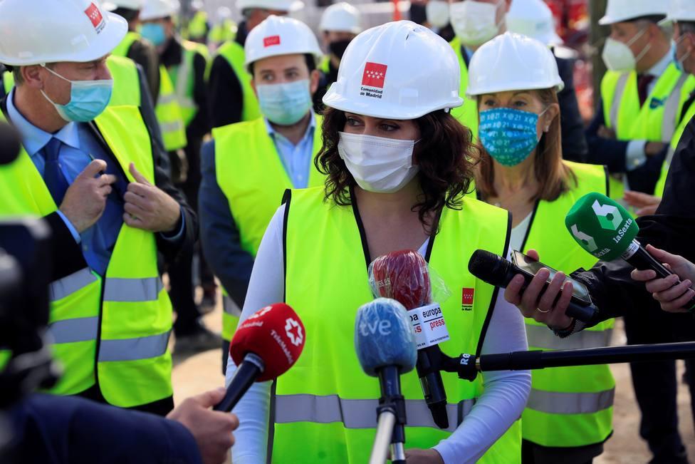 Ayuso inaugurará mañana el hospital de emergencias Isabel Zendal