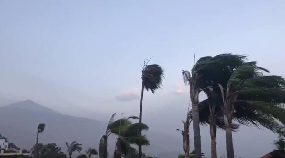Alerta por vientos de 120 km por hora en Canarias