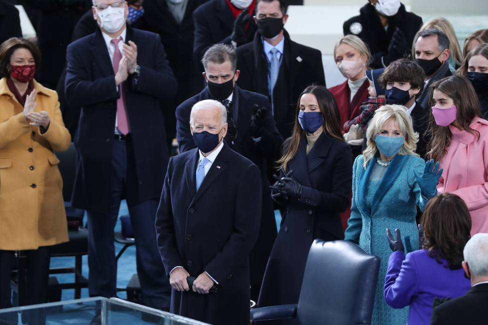 Biden, en su discurso de investidura: La democracia ha prevalecido