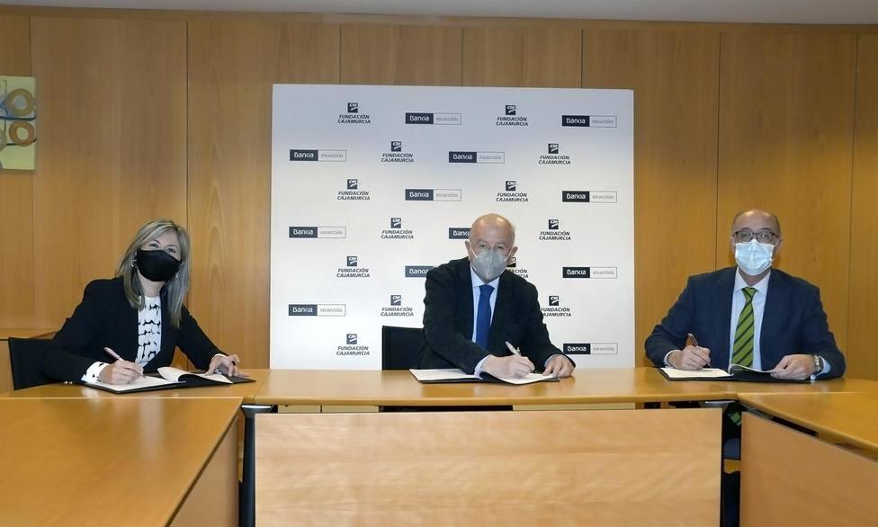 Bankia aporta 610.000 euros a Fundación Cajamurcia para programas sociales, culturales y medioambientales