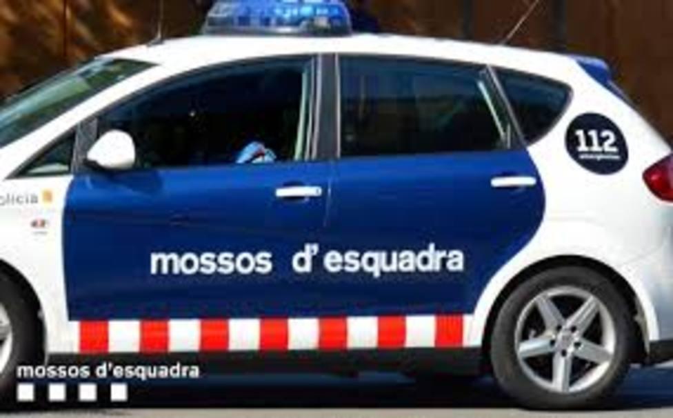 Patrulla de los mossos desquadra