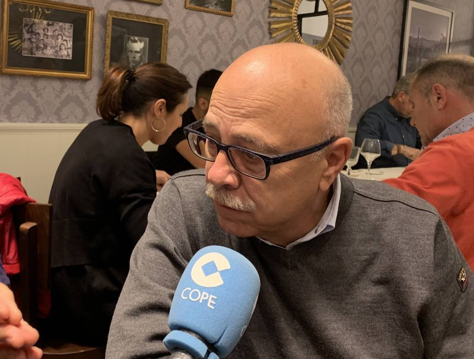 Eduardo García en una reciente entrevista en COPE Málaga.