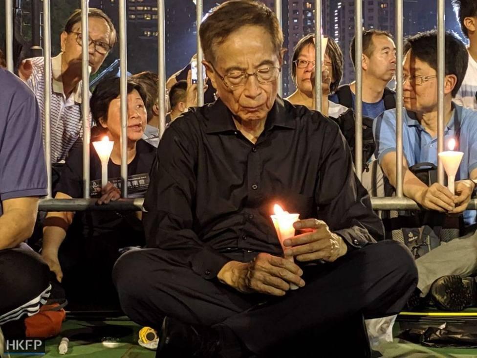Los líderes democráticos de la Iglesia que han sido condenados en Hong Kong