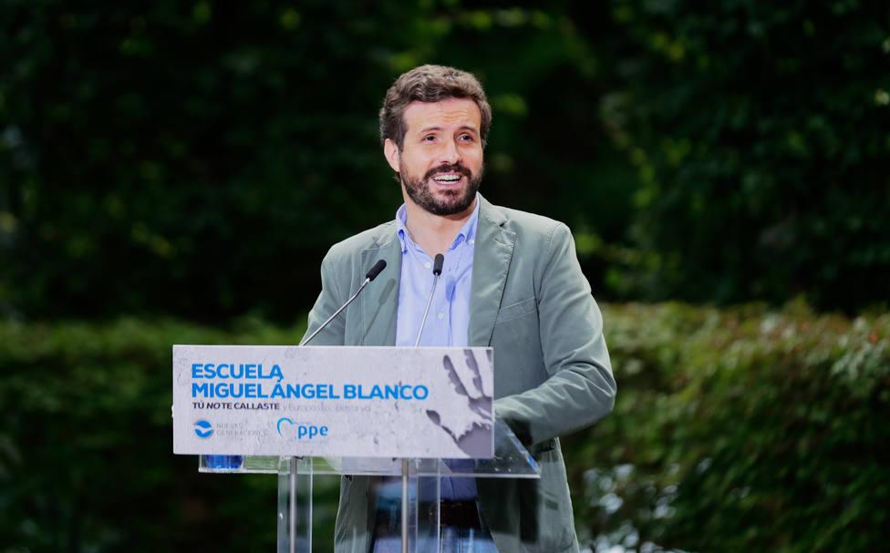 Casado señala a Sánchez como culpable de la inestabilidad política en España