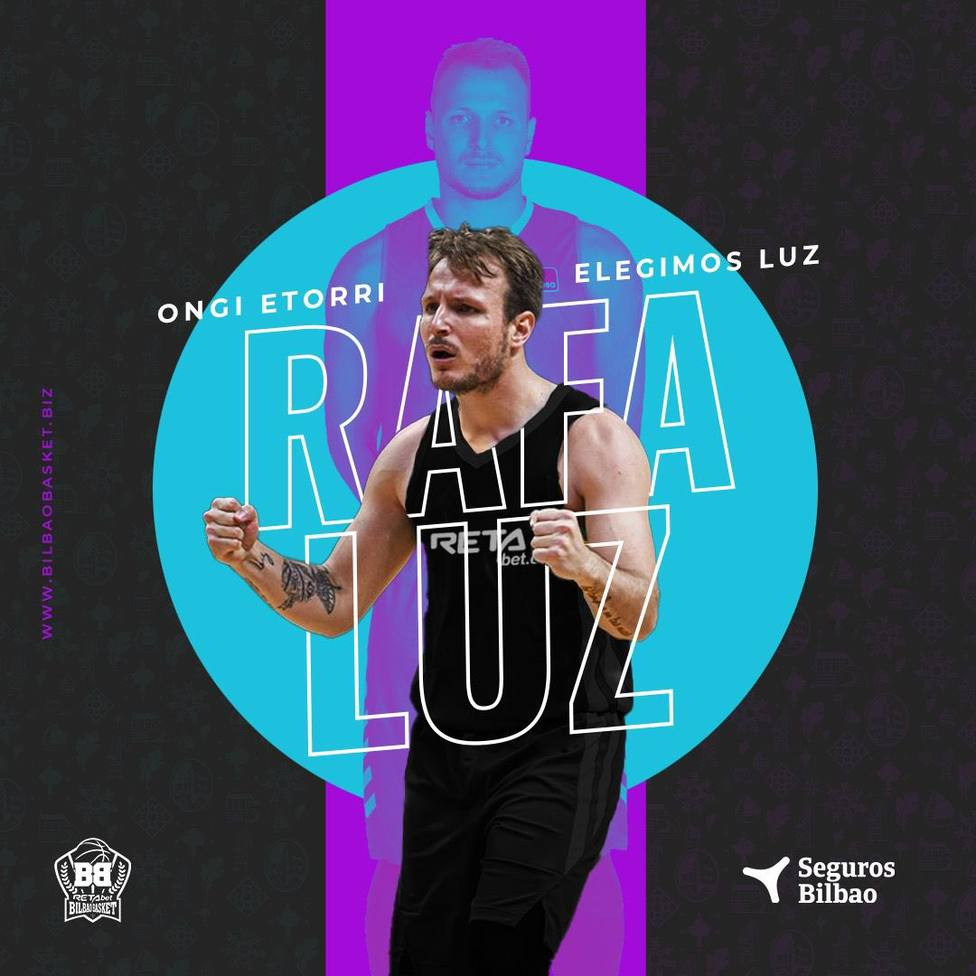 Rafa Luz, a Bilbao Basket; Willis, a Badalona; Scrubb, al Obradoiro