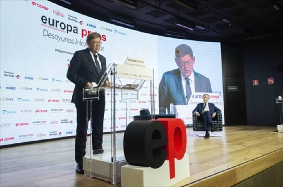 XImo Puig acusa a Madrid de hacer dumping fiscal y no descarta que se cree un impuesto específico