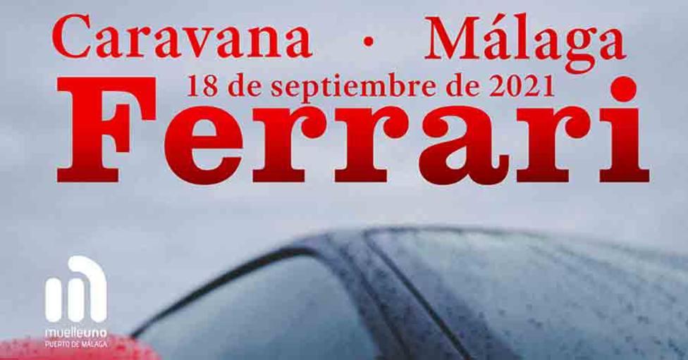 El acto será a lo largo del día de hoy en el Muello UNO de Málaga.