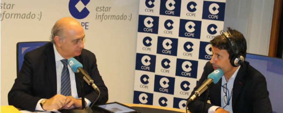 El ministro del Interior, Jorge Fernández Díaz en La Mañana