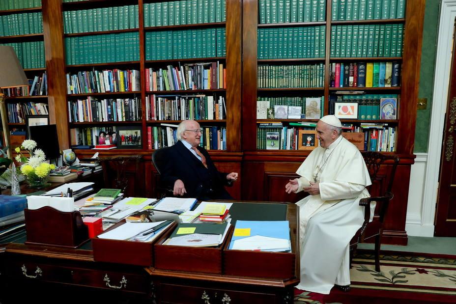 El viaje del Papa Francisco a Dublín en imágenes
